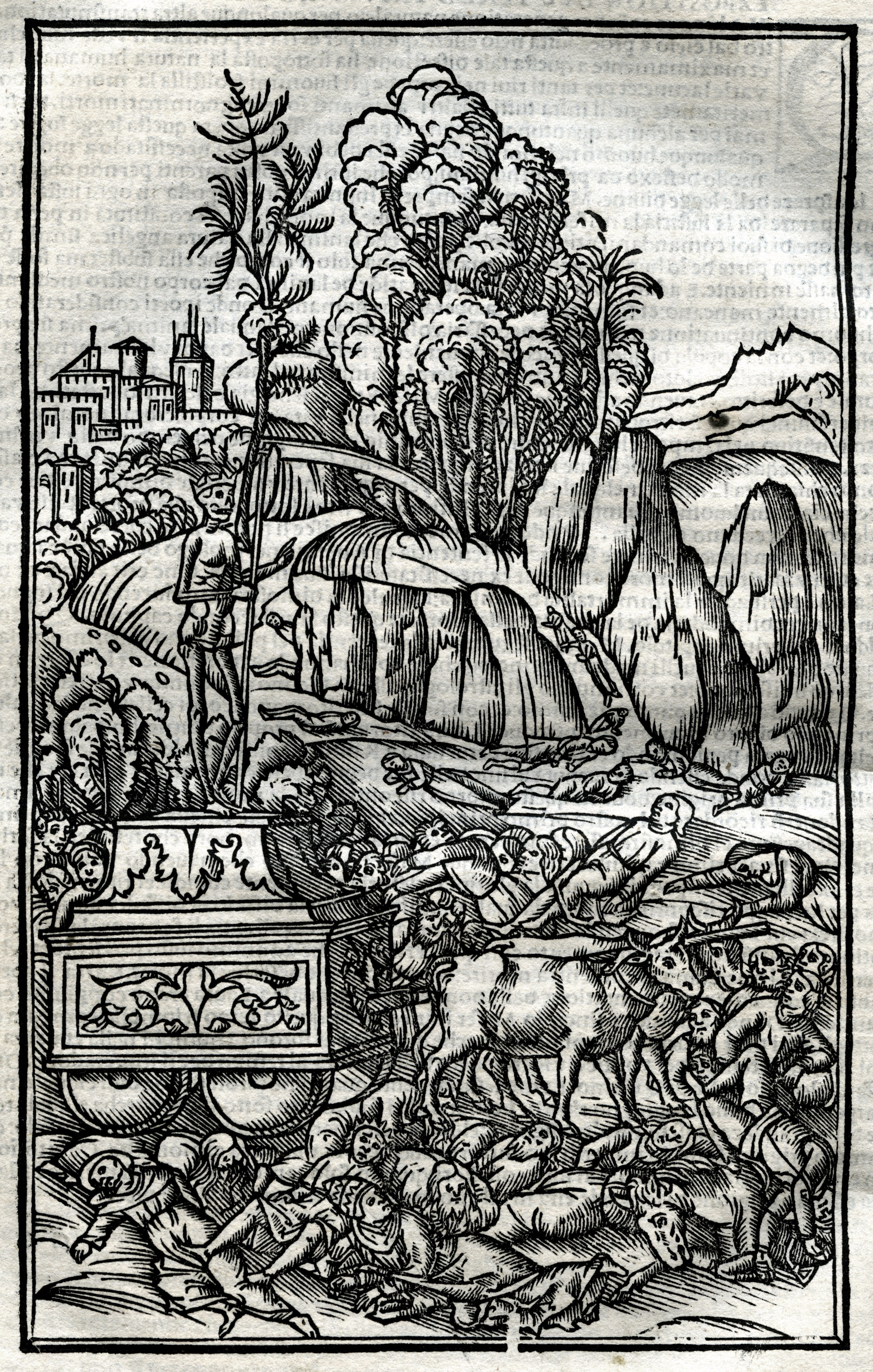 Image of Illustration from Petrarch, 1508