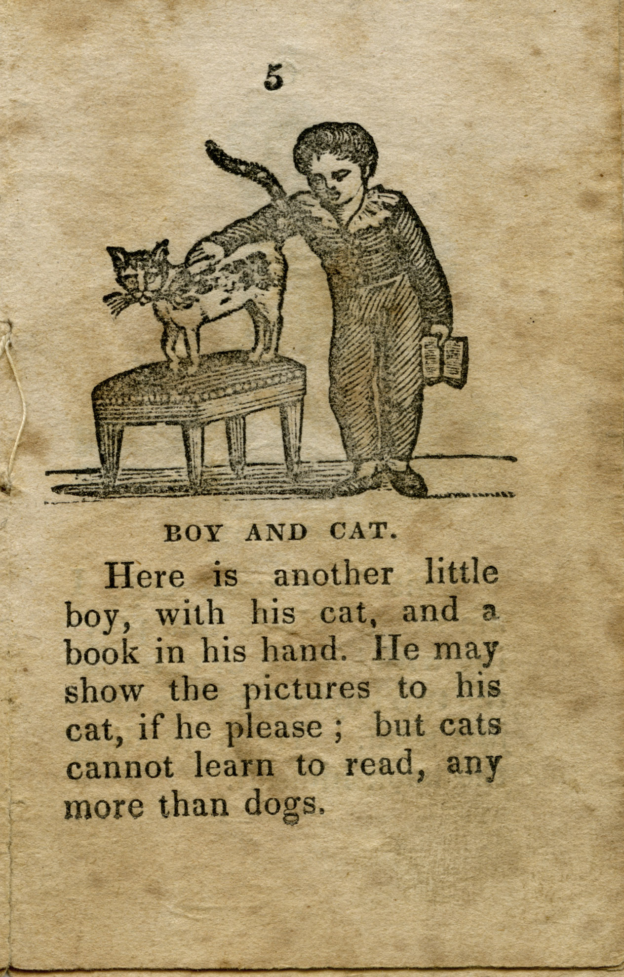 An image of: The New Picture Book (1837)