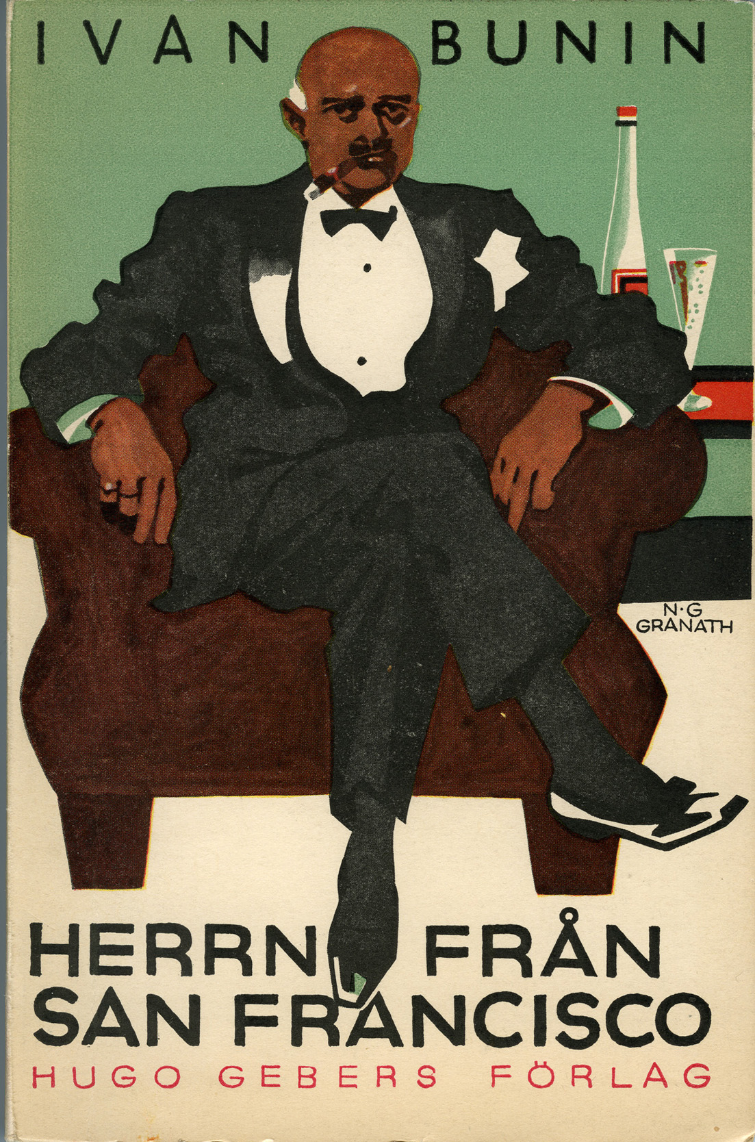 Depiction of Ivan Bunin, Herrn Fran San Francisco