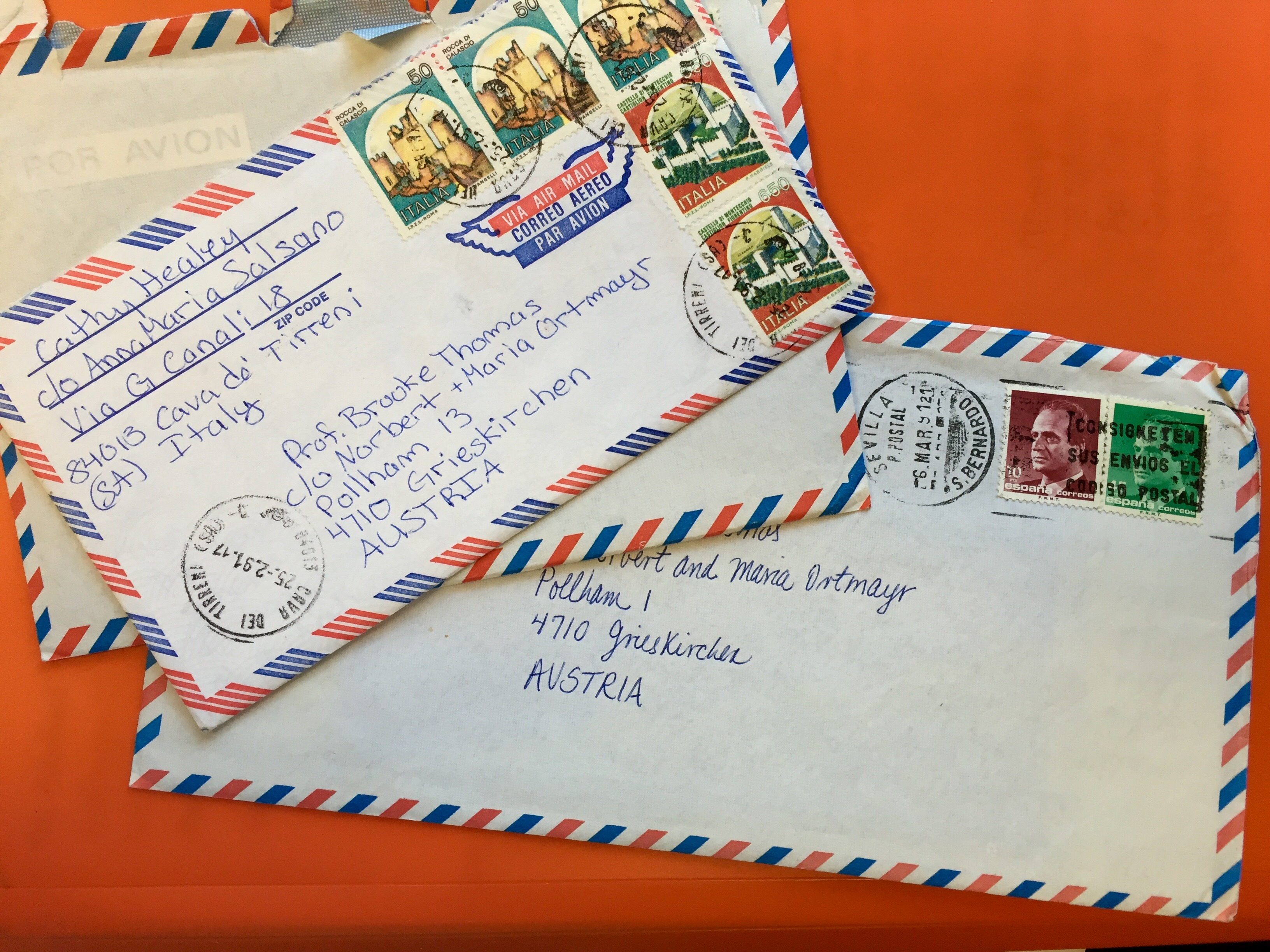 Image of Letters received, EFSP