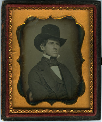 Daguerreoptye of Levi Stockbridge, ca.1855