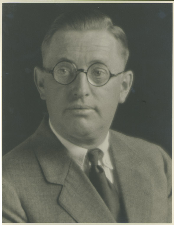 Depiction of Edward Gage, photo by Frank A. Waugh, 1927