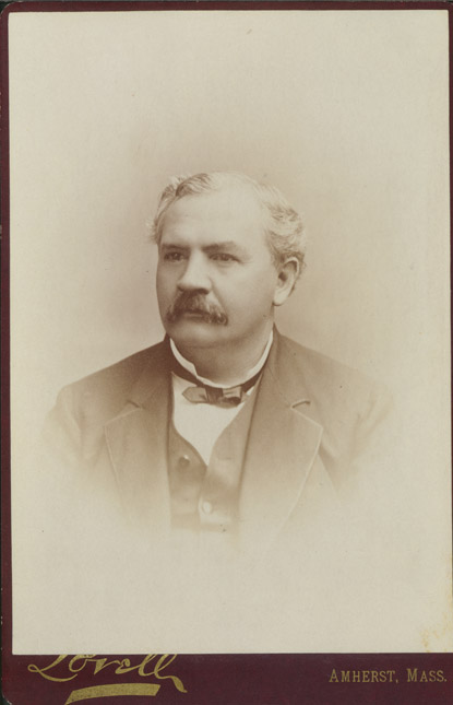 Depiction of Charles A. Goessmann, ca.1890