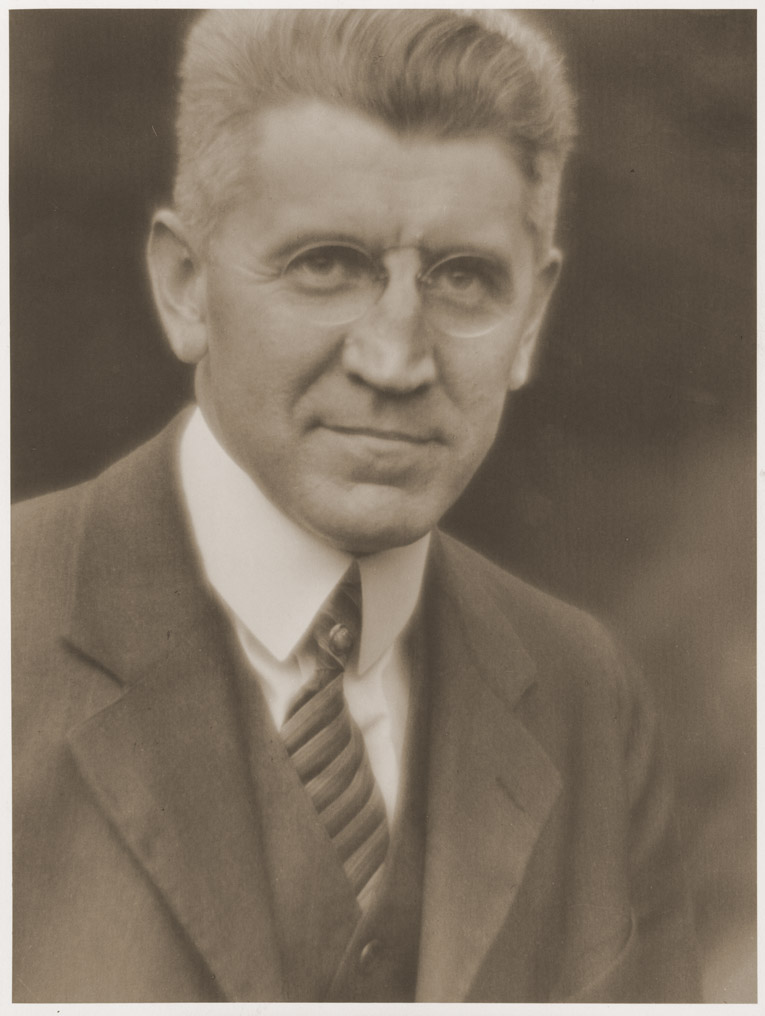Depiction of Robert J. McFall<br />Photo by Frank A. Waugh, 1927