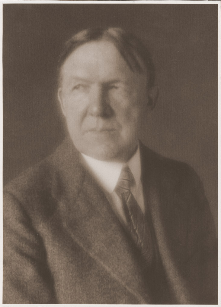 Depiction of Charles H. Patterson.<br />Photo by Frank A. Waugh, 1926