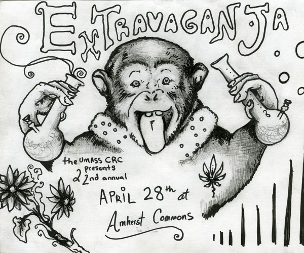 Depiction of Extravaganja poster