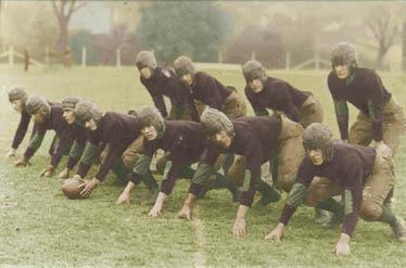 Football team, 1930s