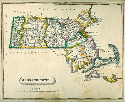 Historic Maps - Maps massachusetts