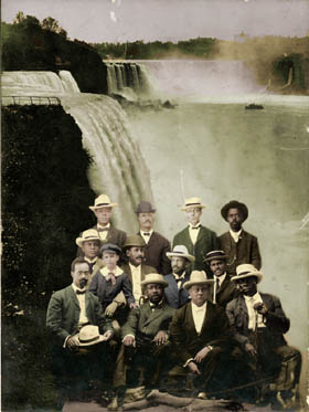 Founders of the Niagara Movement, ca.1905