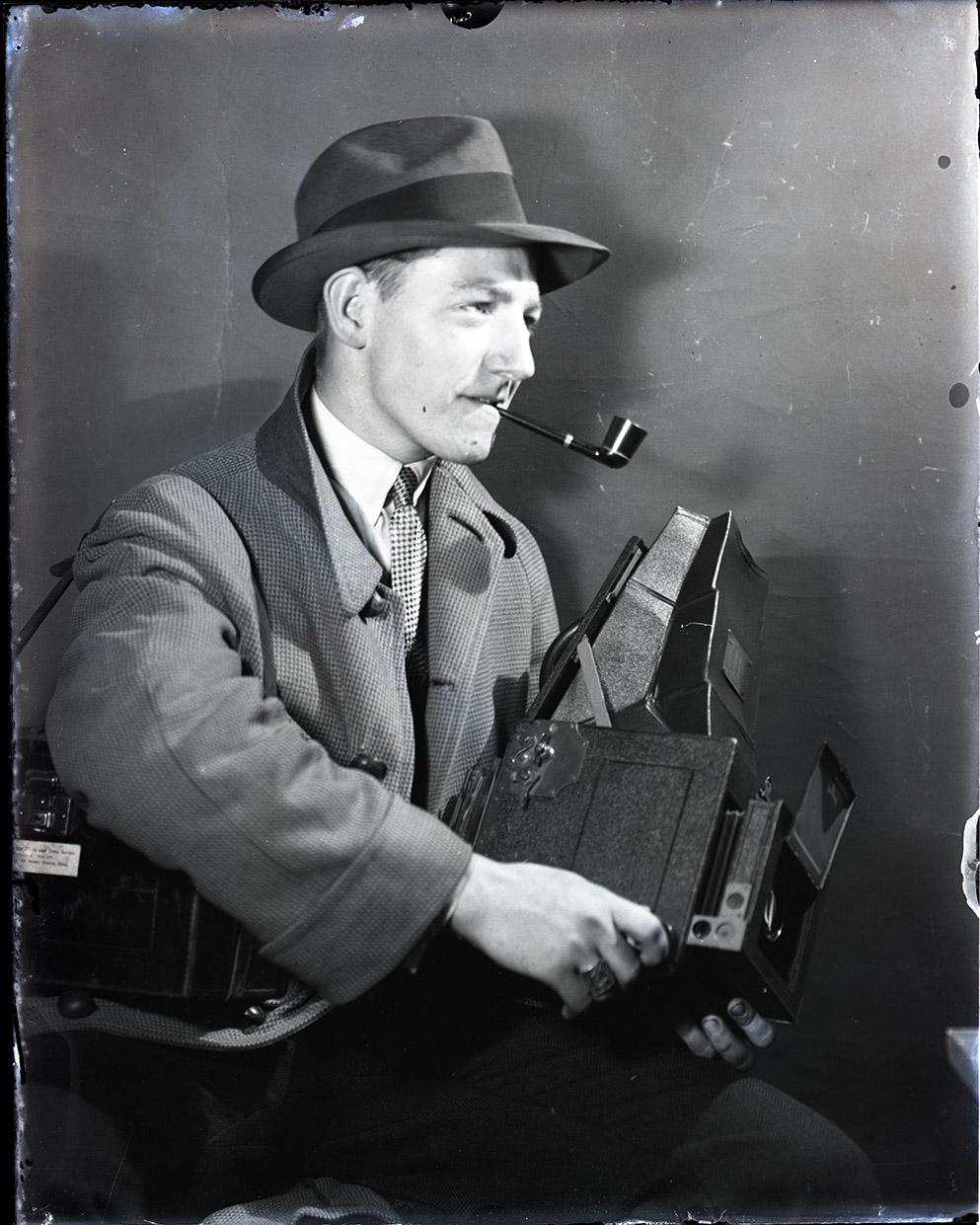 Jack Dixon and camera