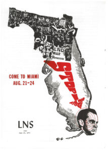 Cover of Liberation News Service issue 441, June 10, 1972.